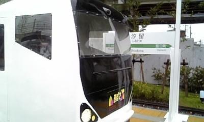ミニ電車の汐留駅