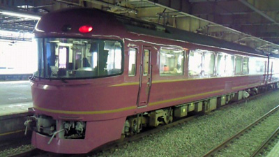 JR東日本の和式電車「宴」