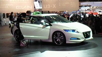 ホンダの新しいハイブリッドカーCR-Z
