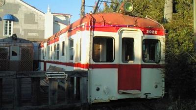 銚子電鉄の廃車車両をカフェとして利用
